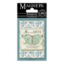 "Stamperia Magnet 2.25""X3.25"" - Butterfly, Azulejos"